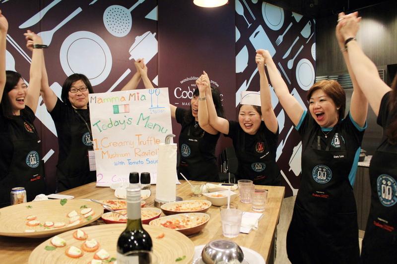 Cooking Workshop Corporate indoor teambuilding event