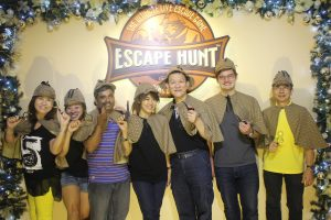 corporate teambuilding escape hunt activity