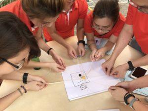 CSI Challenge Singapore teambuilding