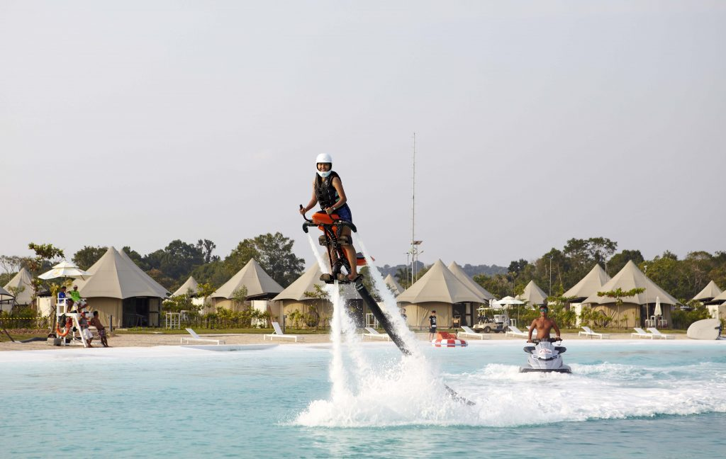jetovator adrenaline pumping activity