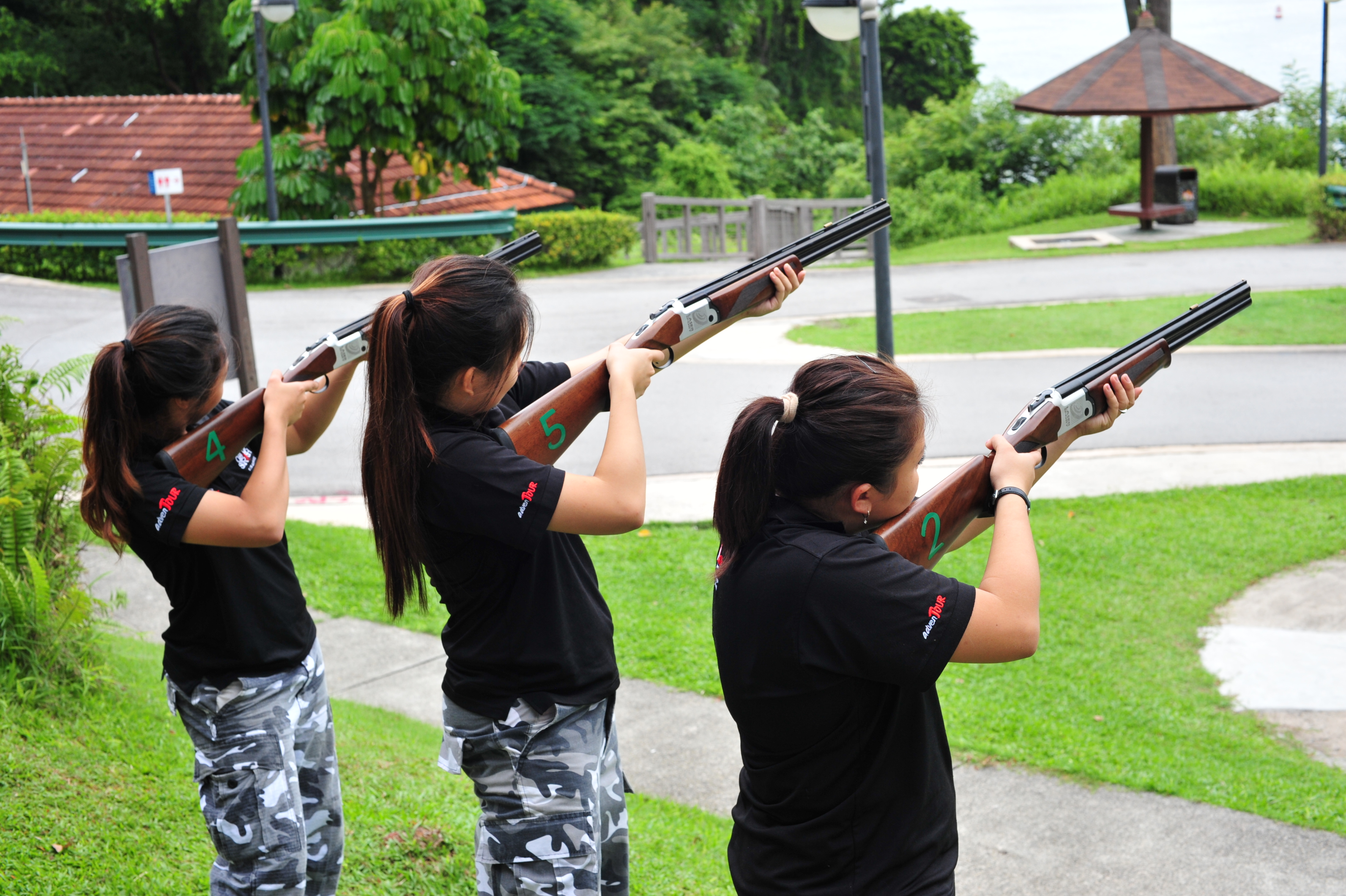 Laser Tag Laser Clay Pigeon Shooting
