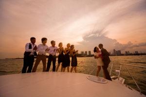Yatch Chartering Singapore Teambuilding