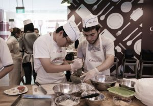 International cooking cuisine teambuilding ideas for corporate groups workshop