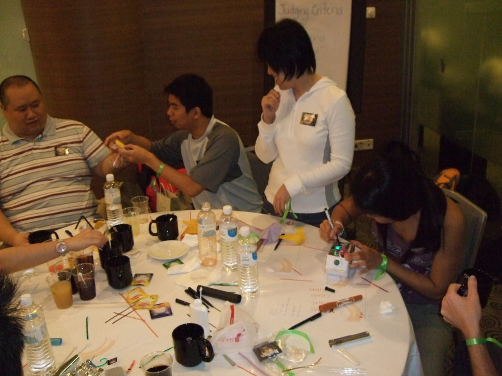 creative juice singapore fun team building