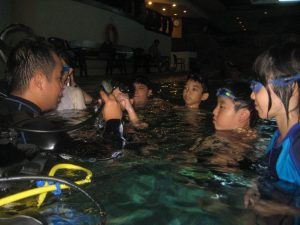 Scuba Diving Tryouts for Kids