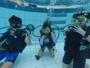 Scuba Diving Tryout for Kids